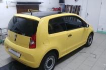 przyciemnianie-szyb-Seat-Mii-zmiana-koloru-dachu