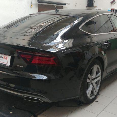 Przyciemnianie szyb Audi a7