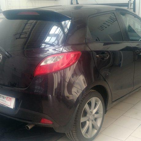 Przyciemnianie szyb Mazda