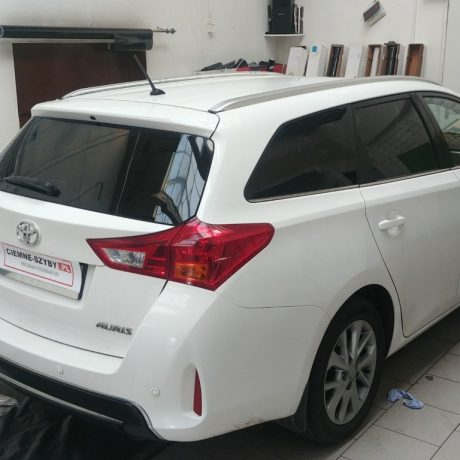 Przyciemnianie szyb Toyota